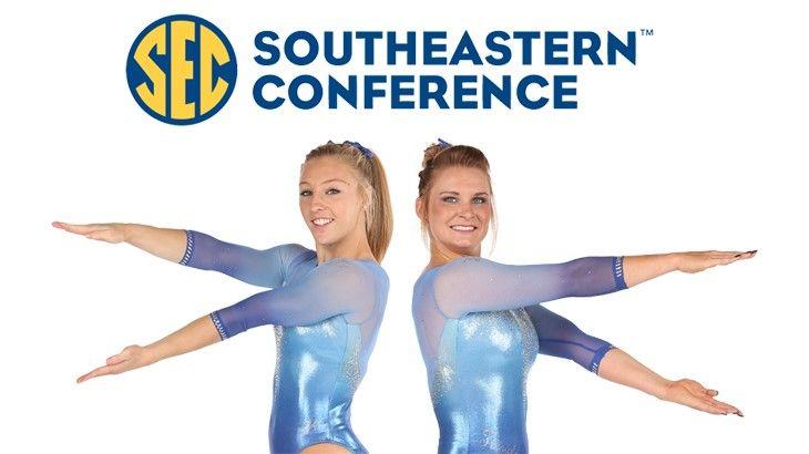 Bridget Sloan & Alex McMurtry - SEC Gymnast of the Week