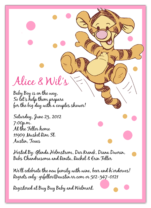 Pin by Michael Dalupo on Winnie The Pooh Baby Shower Invitations ...