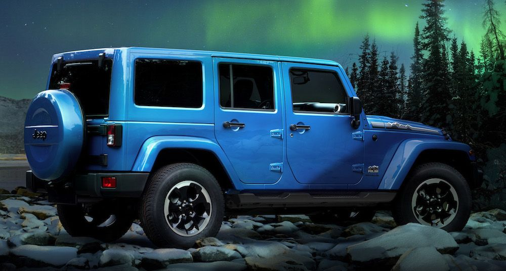 Special Winter Editions Of Jeep Wranglers Jeep Wrangler Jeep