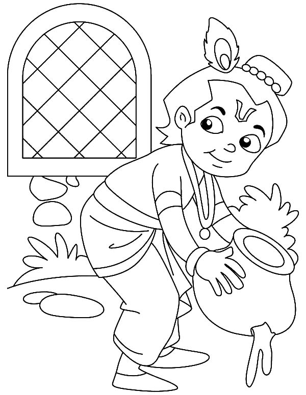 Krishna Stealing Butter Coloring Pages Download Print Online Coloring Pages For Free Color Nimbus In 2021 Online Coloring Pages Coloring Pages Online Coloring