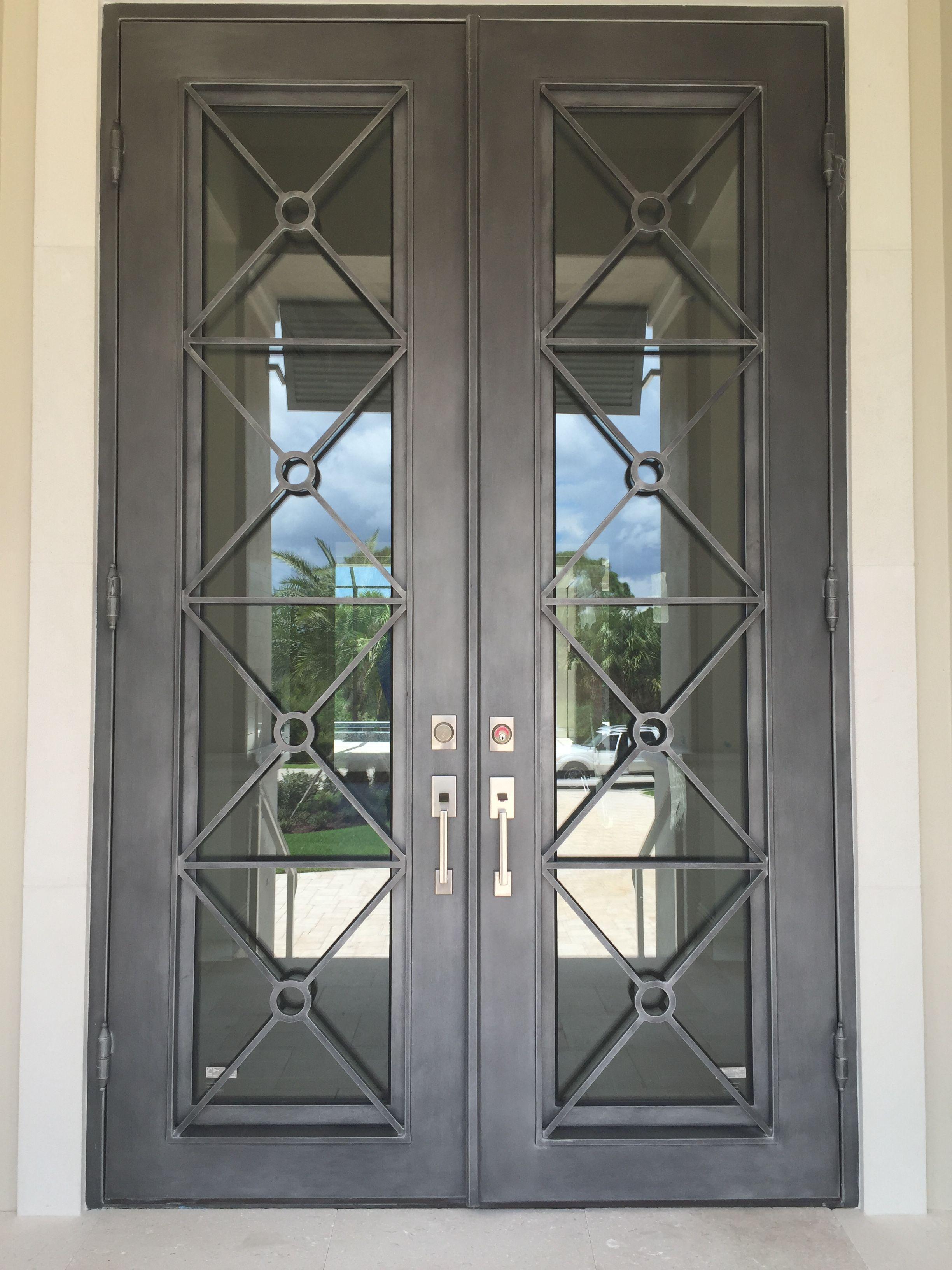 Pin By Suncoast Iron Doors On Modern Wrought Iron Doors Iron