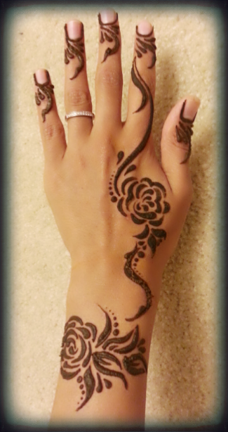 10 Easy Beautiful Mehndi Designs For The Back Of Hand Henna