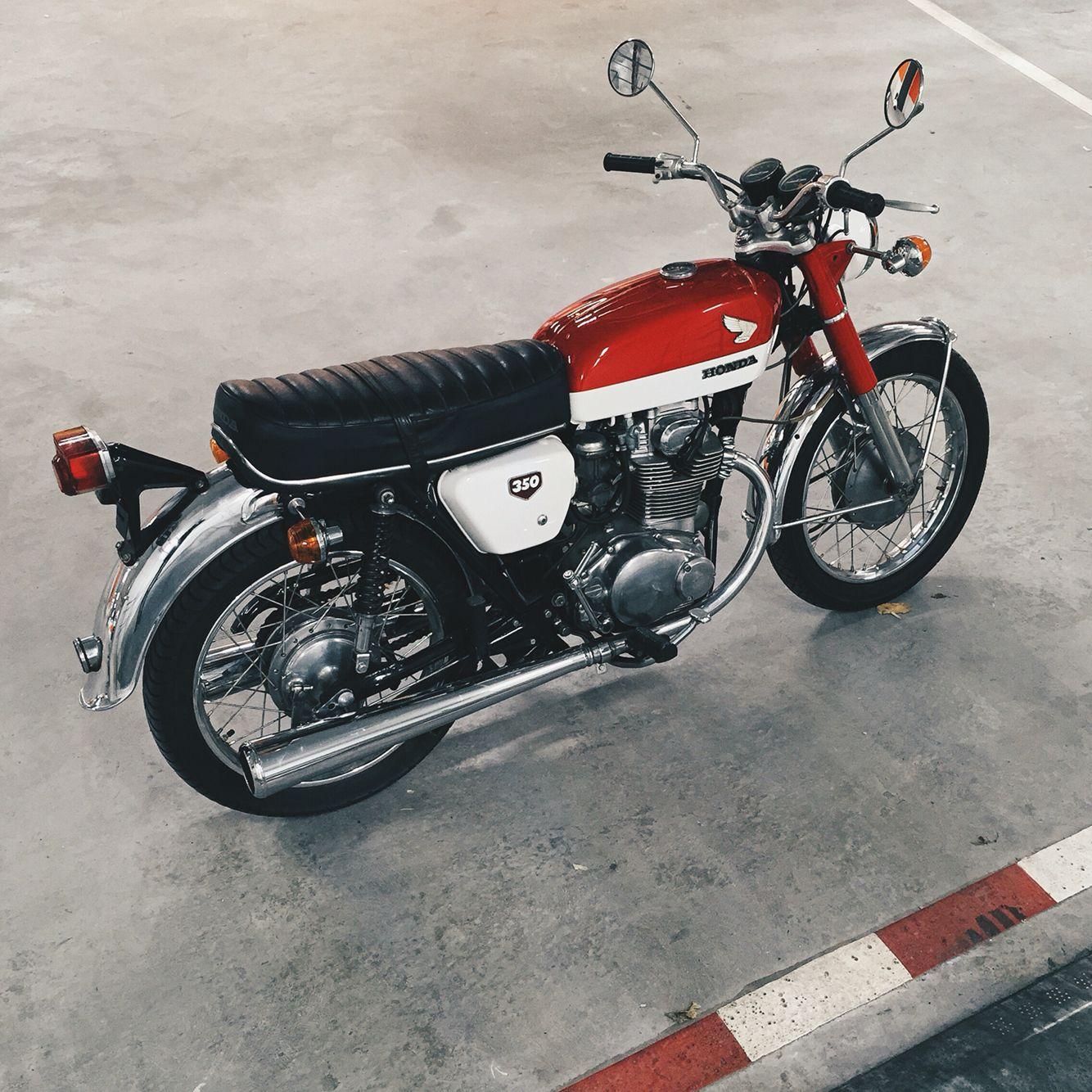 Honda Cb350 1970 Cb350 Cafe Racer Vintage Honda Motorcycles Cafe Racer