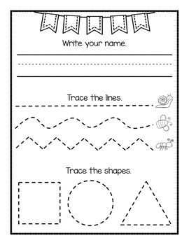 Prewriting Worksheets Fine Motor Worksheets Prewriting