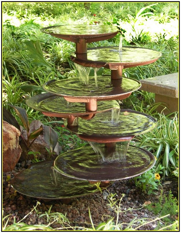Diy Water Features For Patios | In The Yard | Pinterest | Water Features,  Patios And Water