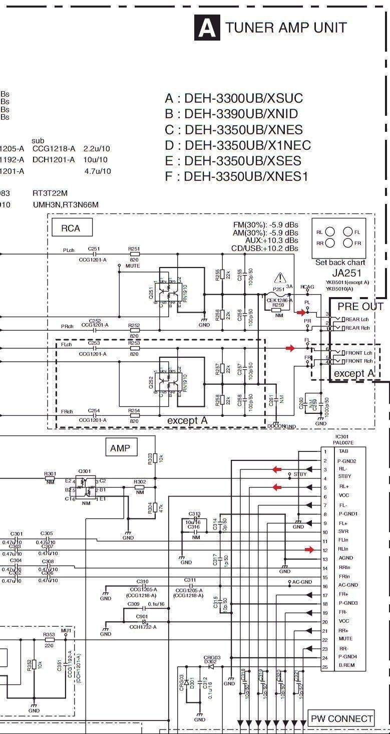 Unique Pioneer Deh 3300ub Wiring Diagram In 2020 Diagram Wire Pioneer