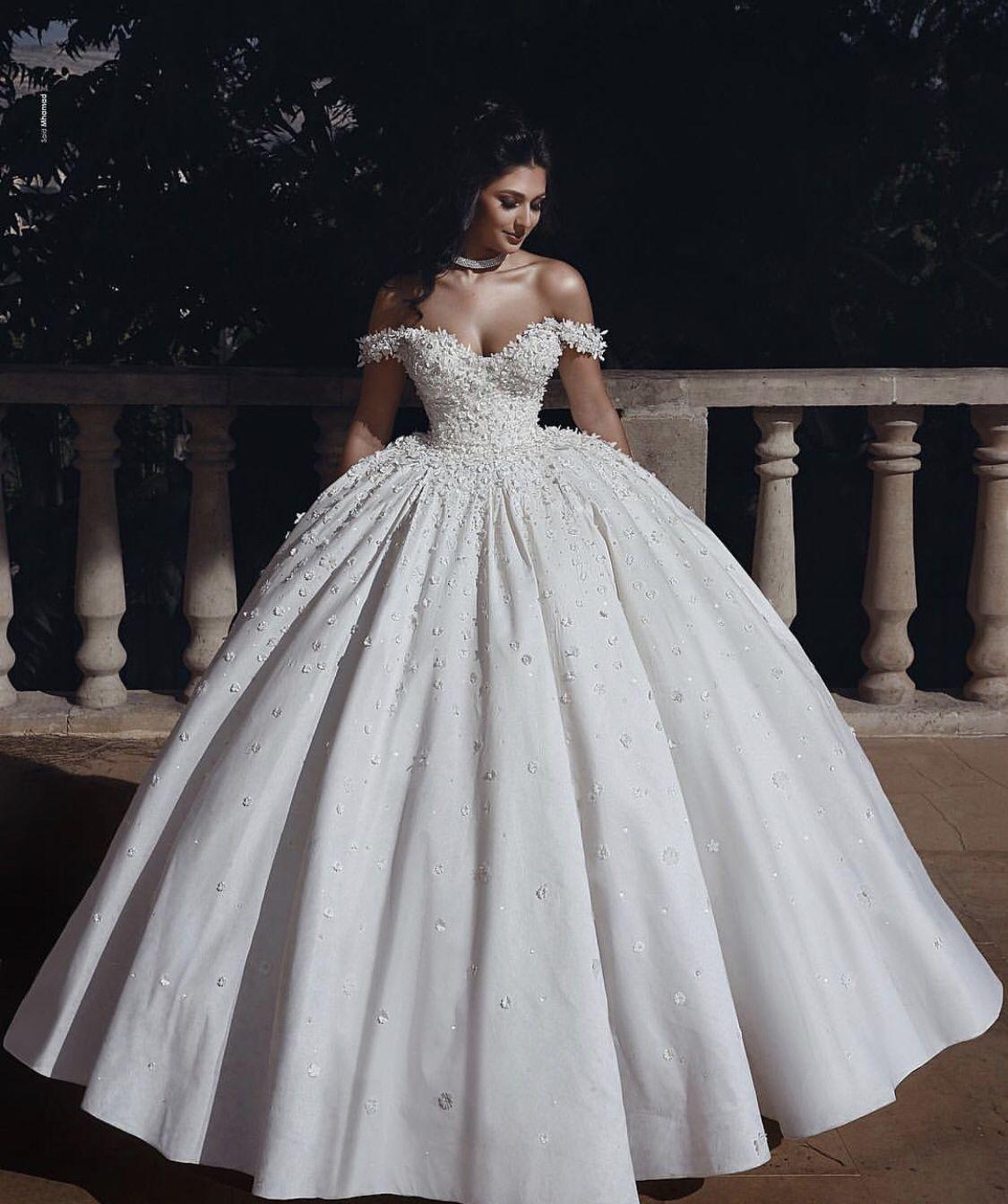 Dream Wedding Ball Gown Wedding Dress Wedding Dress Long Sleeve Destination Wedding Dress