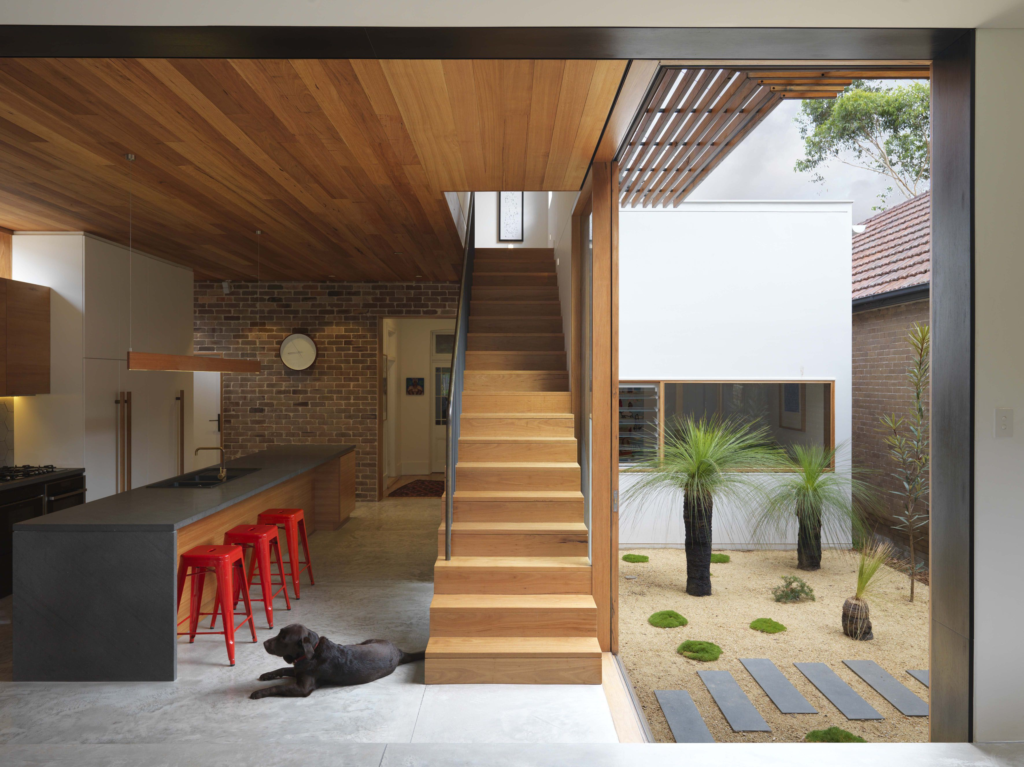 The Suntrap - Anderson Architecture: Garden by Mallee Design ...