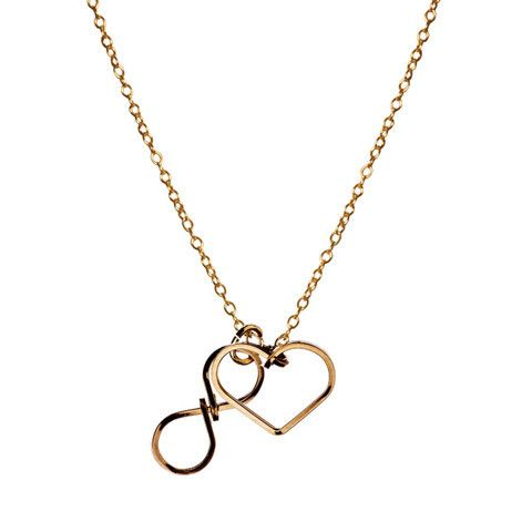 infinite Love Necklace www.gatzino.com -  For more amazing deals visit us at http://www.brides-book.com/#!brides-book-outlets/ck9l and remember to join the VIB Ciub