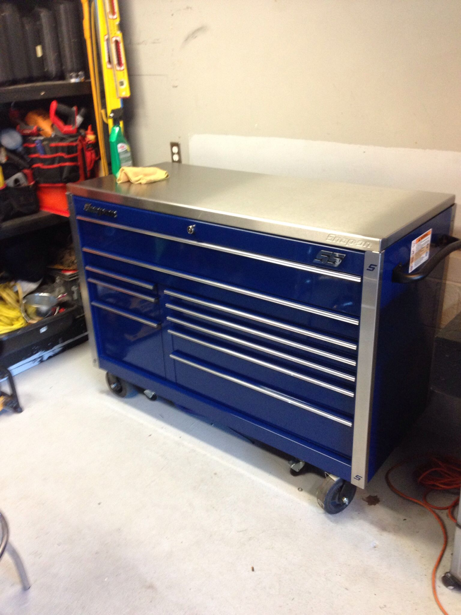 My tool box snap on Classic 78 | Blue things | Pinterest
