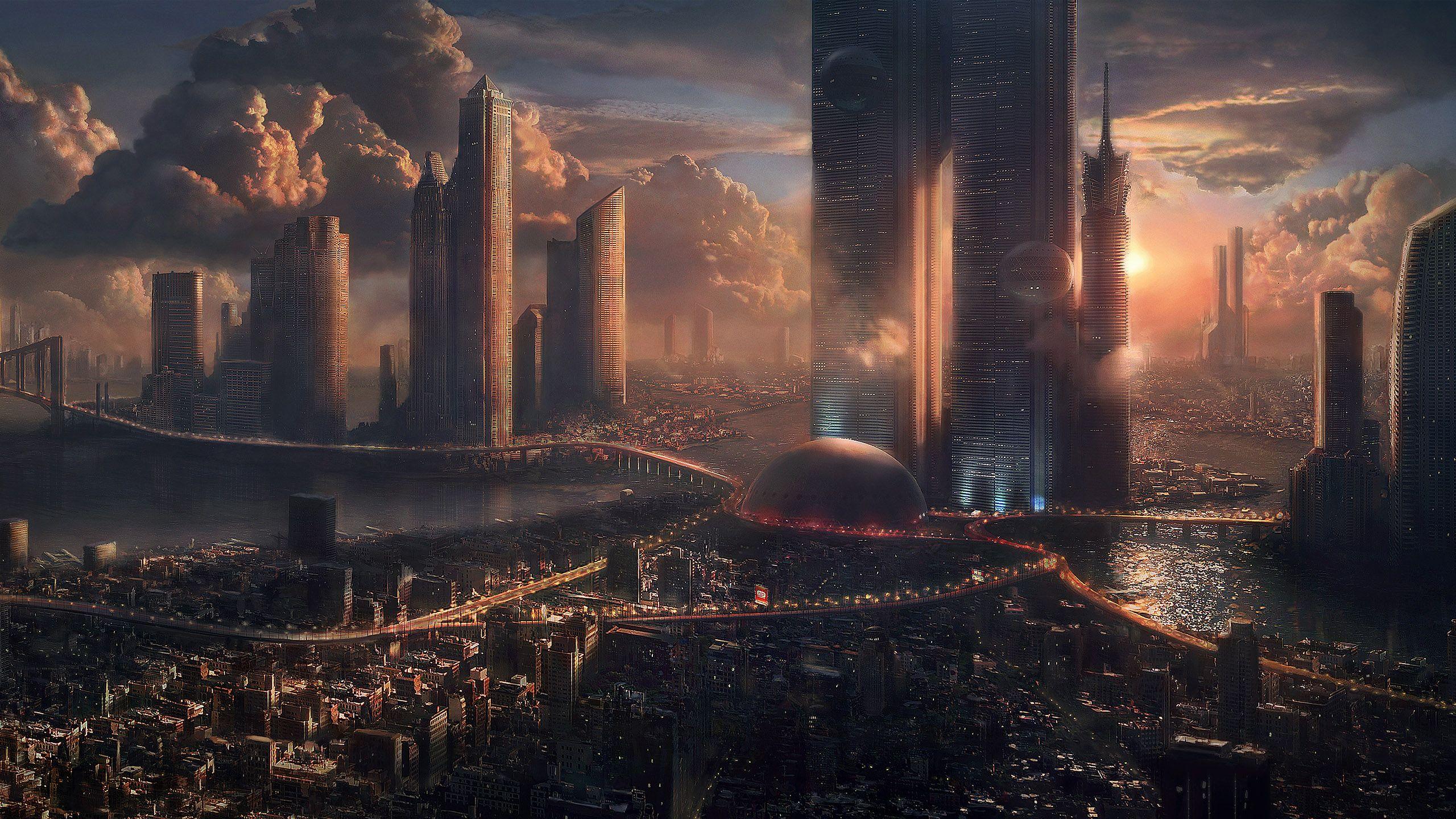 Sci Fi Wallpaper 2560x1440