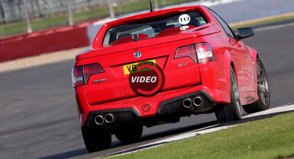 Vauxhall S 528hp Maloo Vxr8 Lsa Ute Is A Surprisingly Fun Track