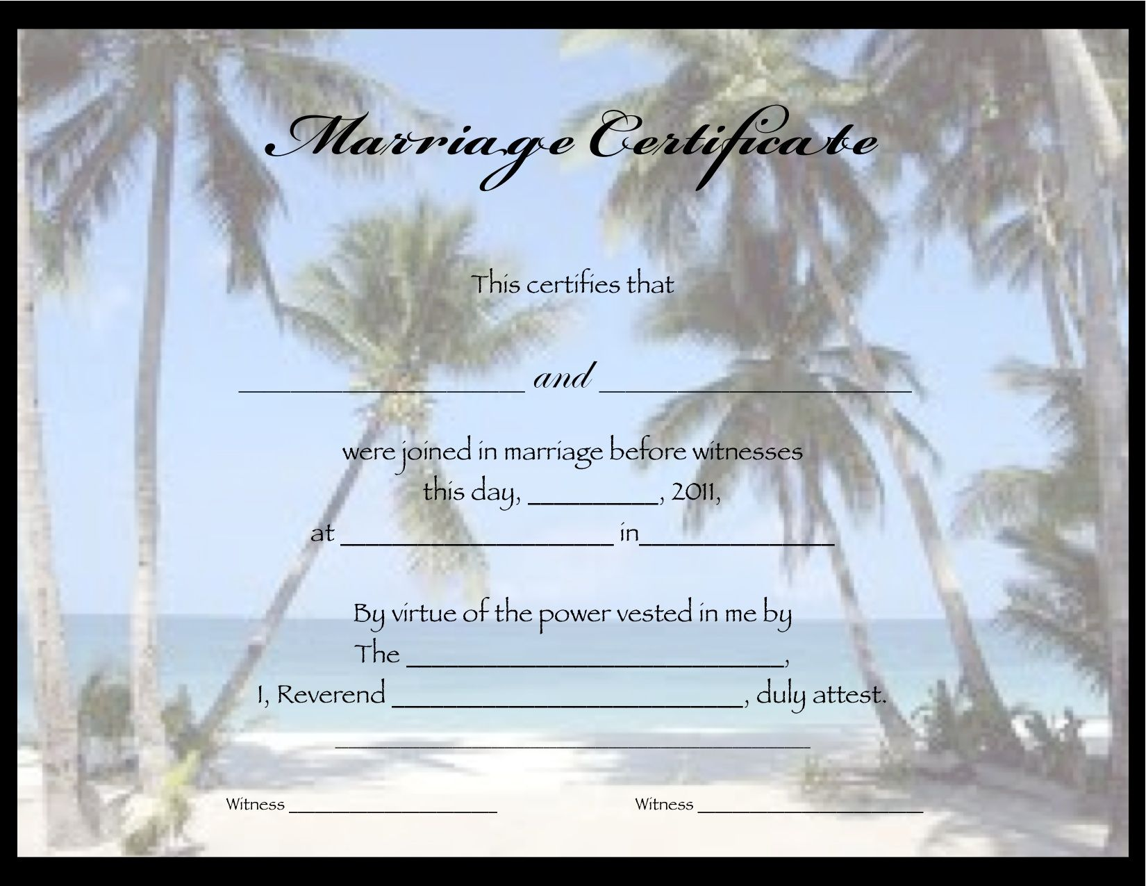 Free printable marriage certificates hawaii untouched hawaiian free printable marriage certificates alramifo Image collections