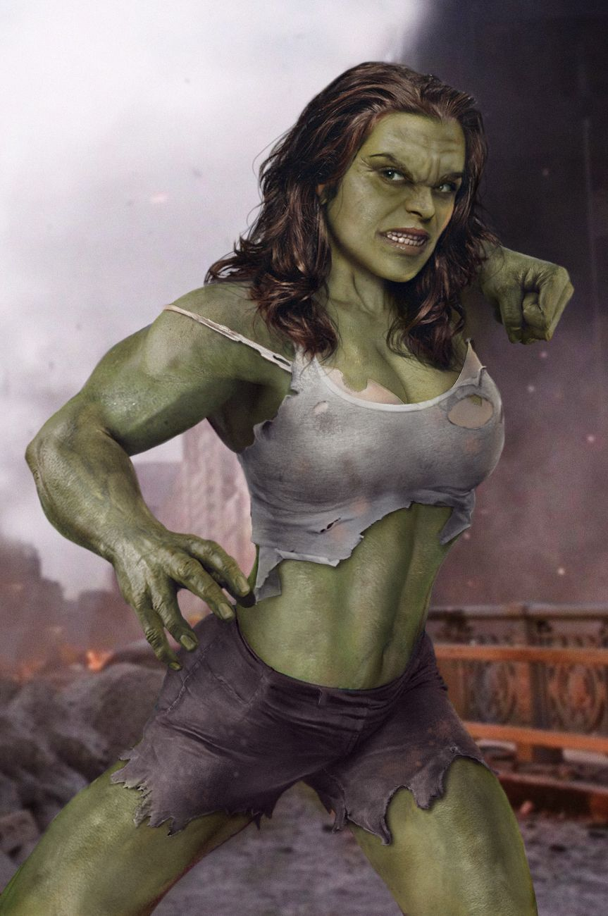 If Women Ruled The Earth 2 Lady Hulk She Hulk Female Avengers