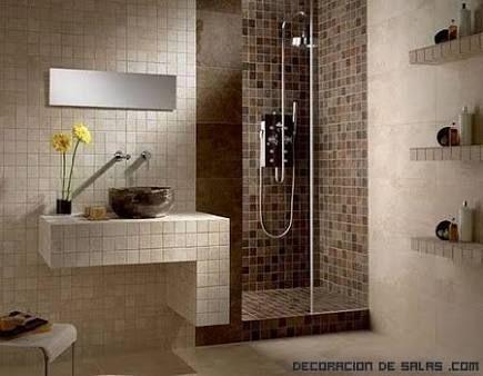 decoracion de baños pequeños y sencillos - Buscar con Google - decoracion baos pequeos
