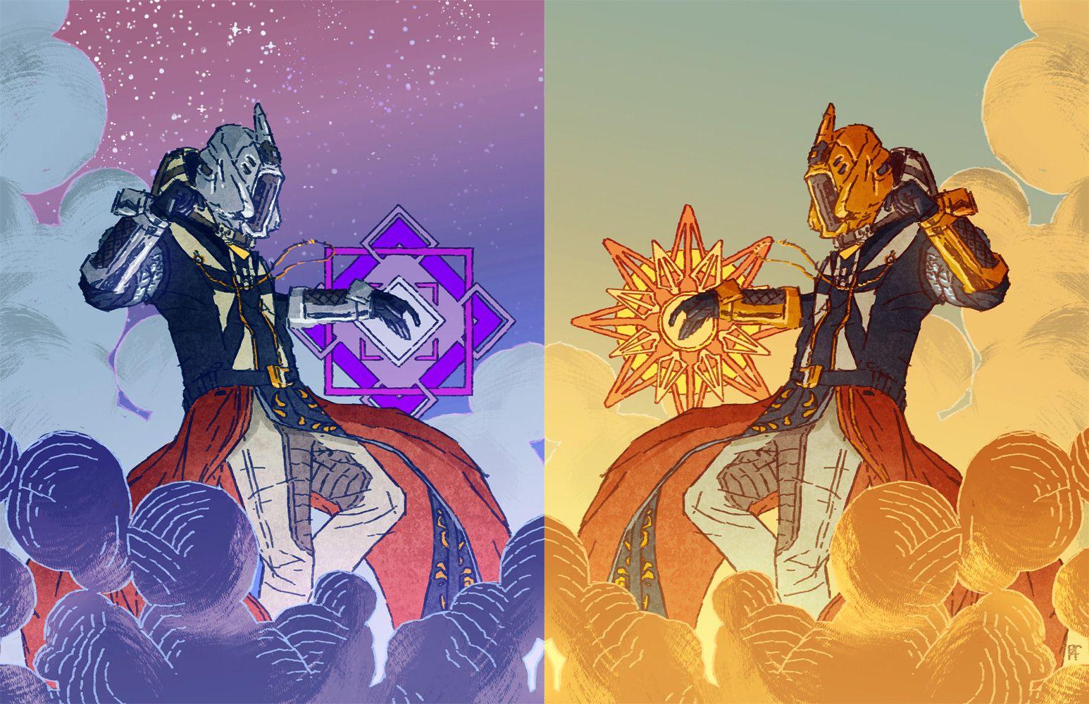 Warlock By Paulreinwand Deviantart Com On Deviantart Destiny