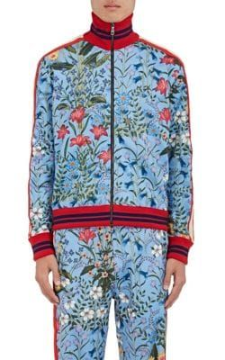 283078f9 GUCCI Floral Piqué Track Jacket. #gucci #cloth #jacket. Find this Pin and  more on Gucci Men ...