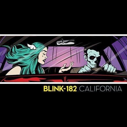 Blink 182 California Deluxe Edition 180g Vinyl 2lp Download May 19 2017 Pre Order Blink 182 California Blink 182 Blink 182 Album Cover