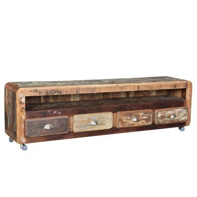 Industrial & Retro Wood Tv Units