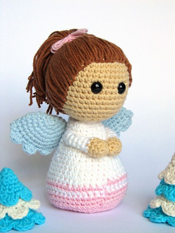 little angel amigurumi crochet pattern pdf e book. Black Bedroom Furniture Sets. Home Design Ideas