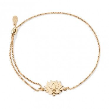 Expandable Alex and Ani Womens Lotus Peace Petals Charm 14KT Rose Gold Plated