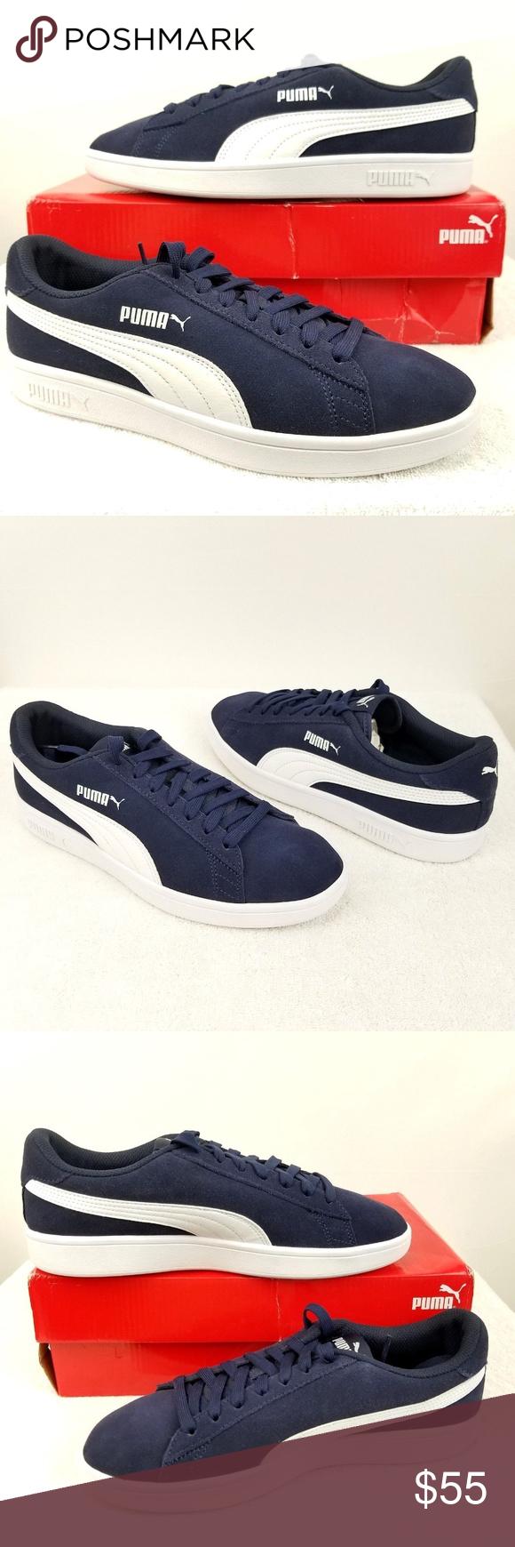 Puma Smash V2 Sneaker 364989 04 Peacoat