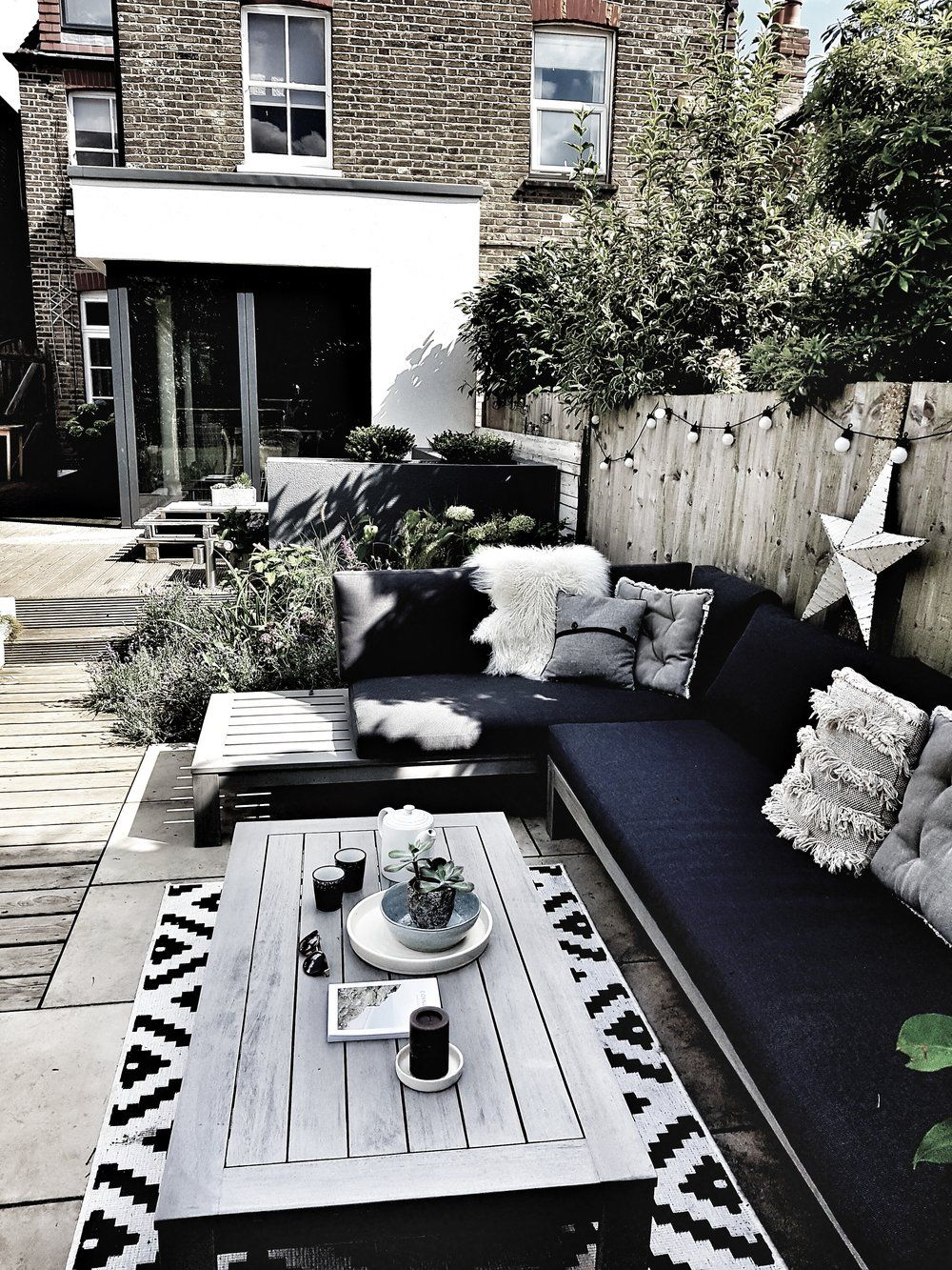 Creating a Scandi Inspired Garden Seating Area — Malmo & Moss