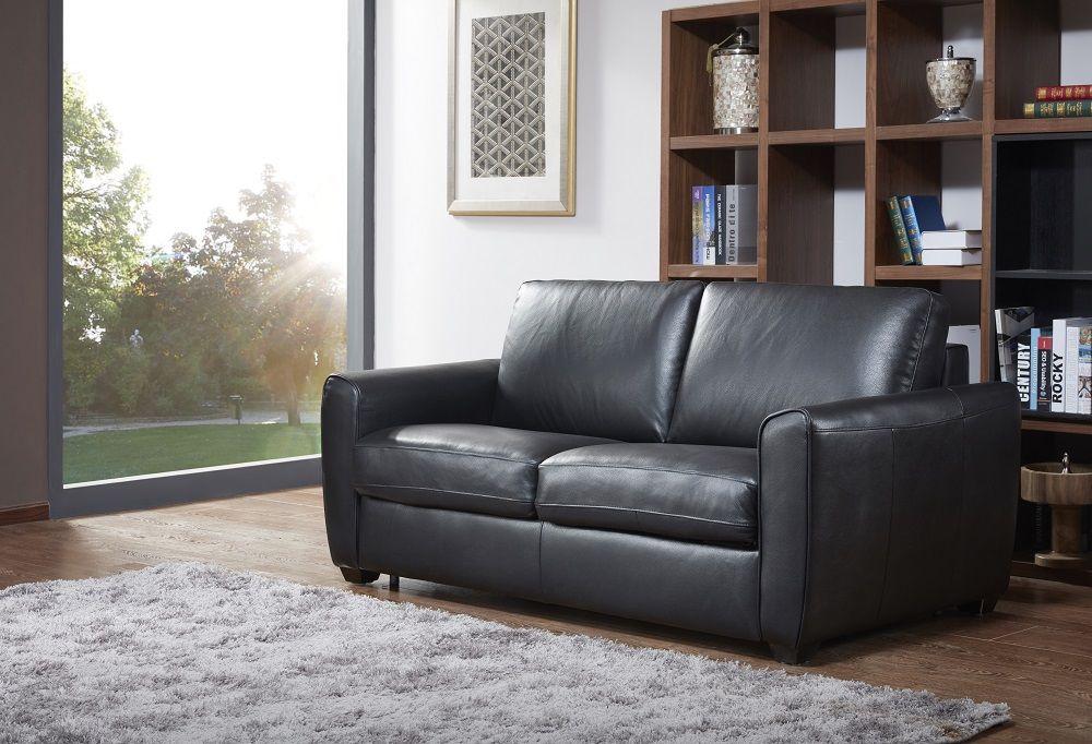 Ventura Sofa Bed In Black By J M