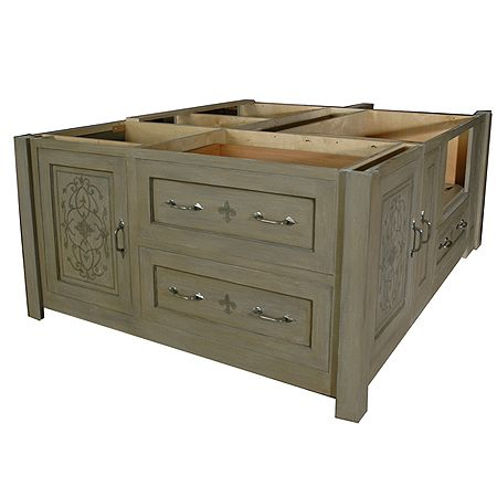 Kitchen Islands Without Tops X