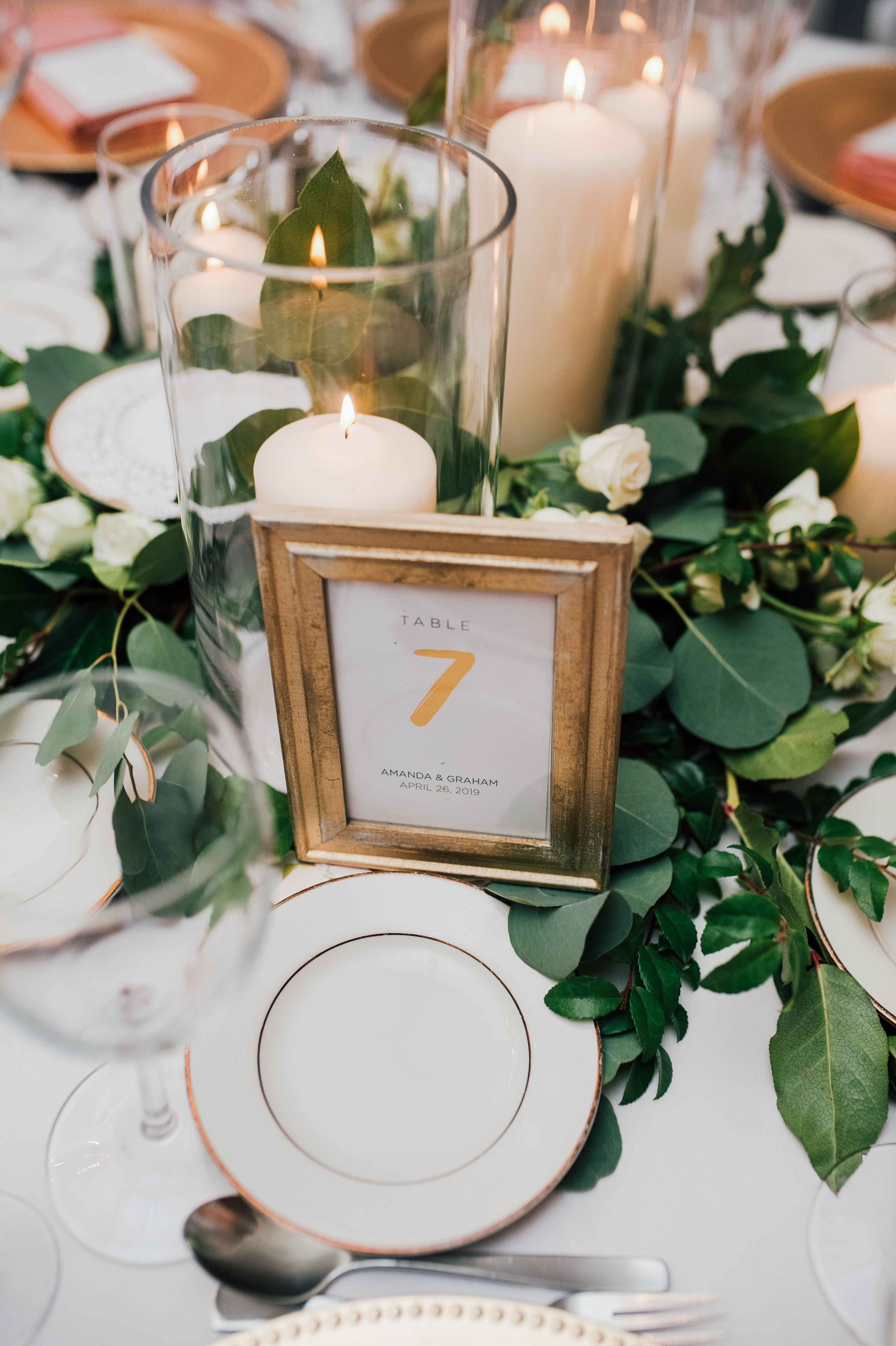 Romantic Wedding Ideas Gold Frame Table Number Summer Wedding Table Arra Gold Table Numbers Wedding Table Numbers Wedding Rustic Table Arrangements Wedding