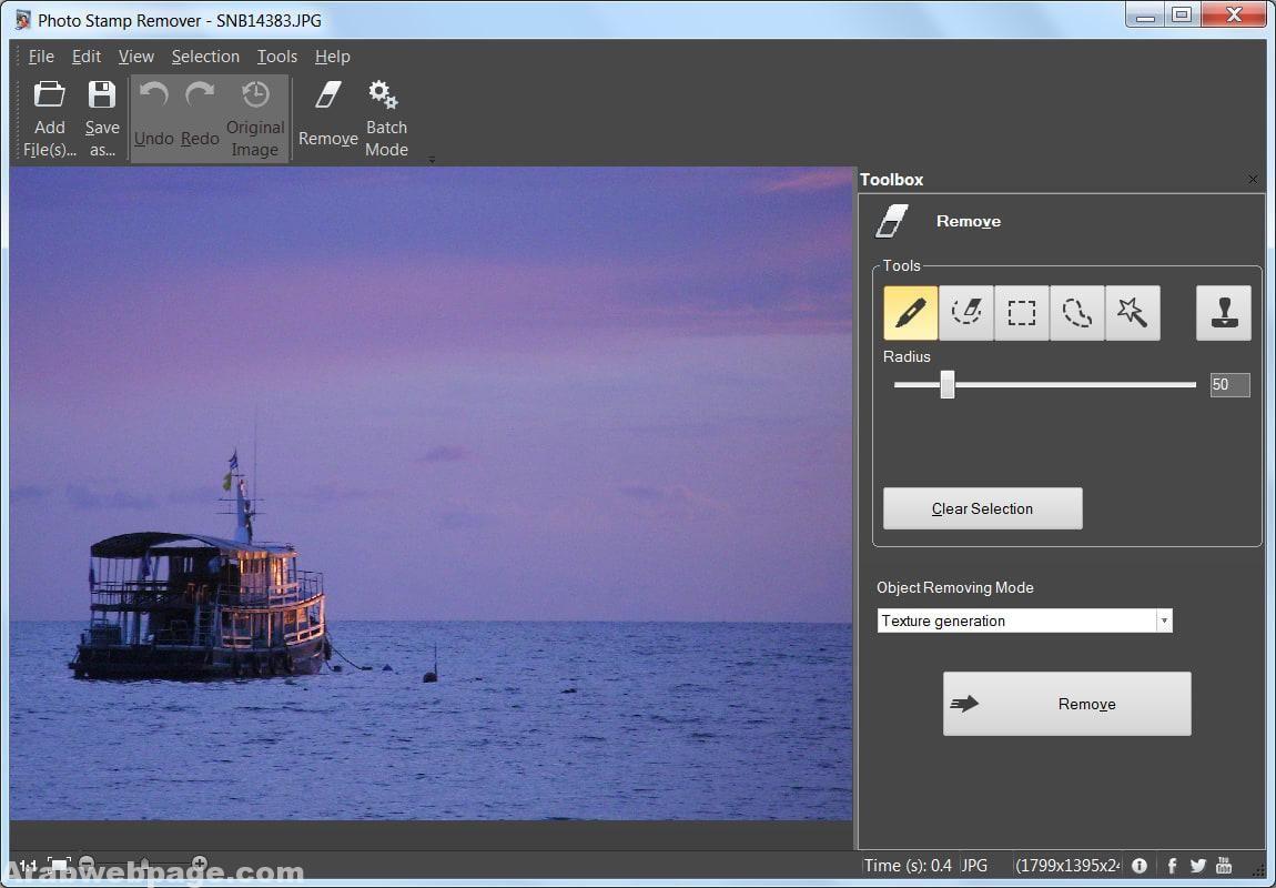 تحميل برنامج حذف العلامة المائية من الصور Remove Watermark