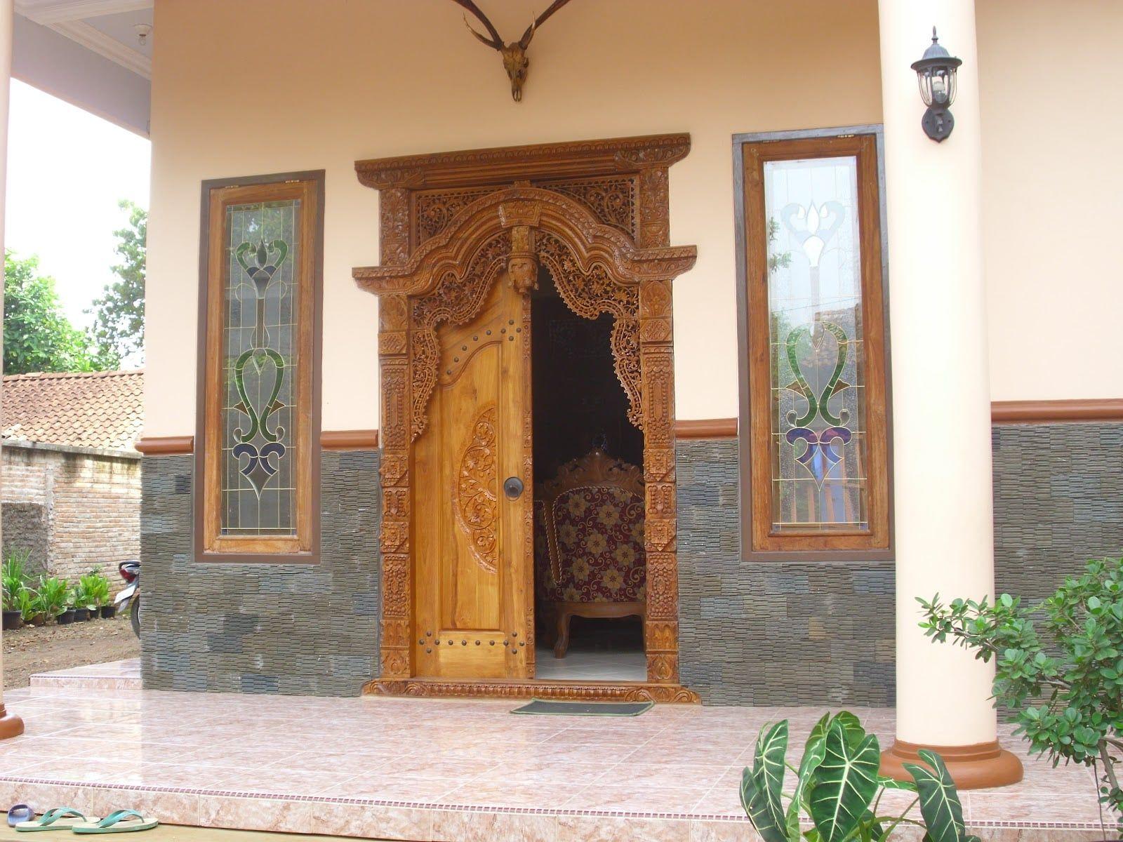 Desain Rumah Gebyok Sederhana Rumah Desain Produk Desain Rumah gebyok minimalis