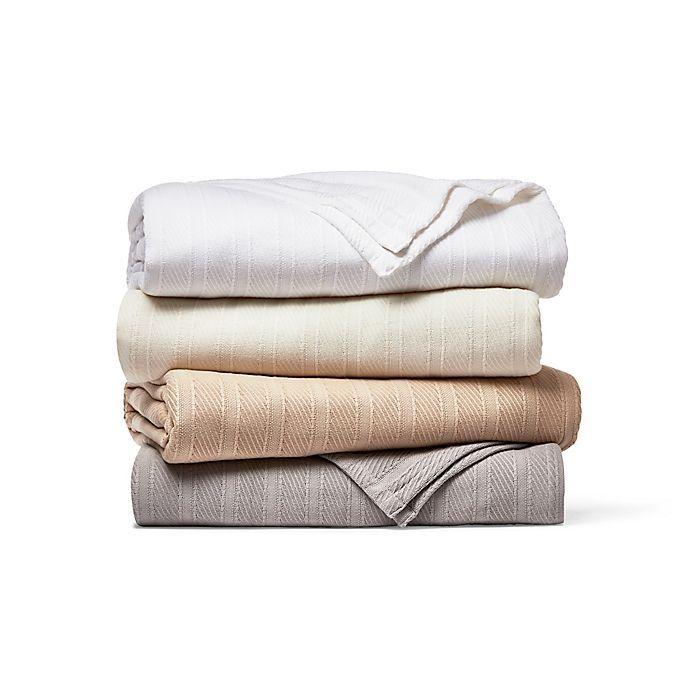 Photo of Wamsutta® Classic Cotton Blanket | Bed Bath & Beyond