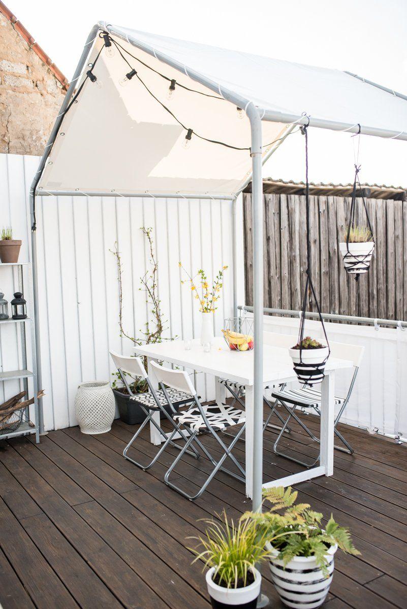 Ein Haus Auf Dem Balkon Garten Pinterest