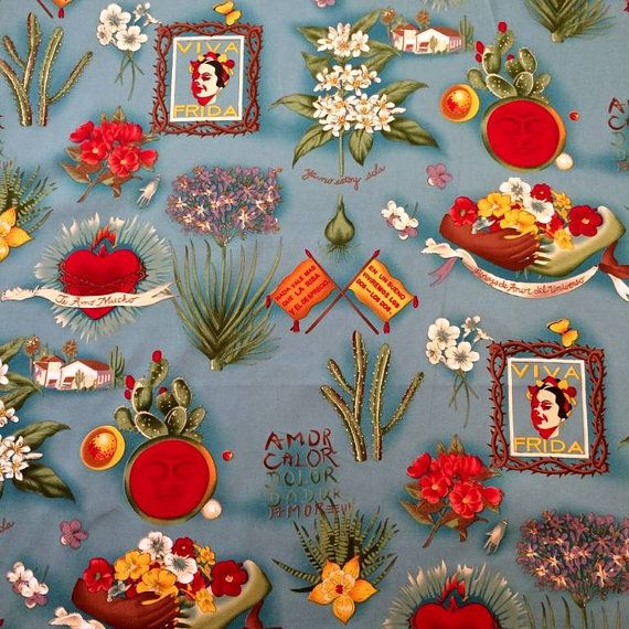 THE FABRIC IS SOLD BY 1/2 YARD.  1 YARD MEASURES APPROX. 122CM X 45CM  FABRIC WIDTH: 122CM  This fabric will come as one piece if you order more