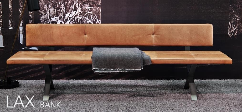 beautiful leather bench from more wwwmore-mobelde Lax Bank - eckbank küche leder