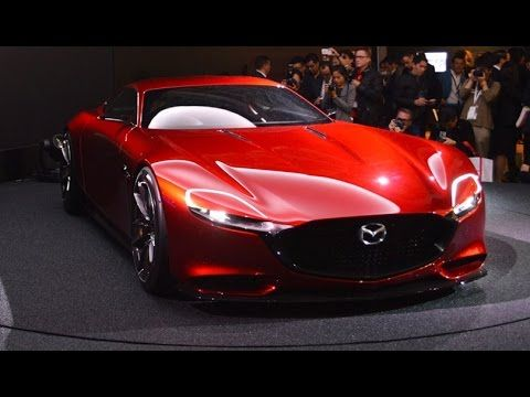 Mazda Motor Corporation Unveiled The Rotary Powered Mazda RX VISION Sports  Car Concept At The Tokyo Motor Today.
