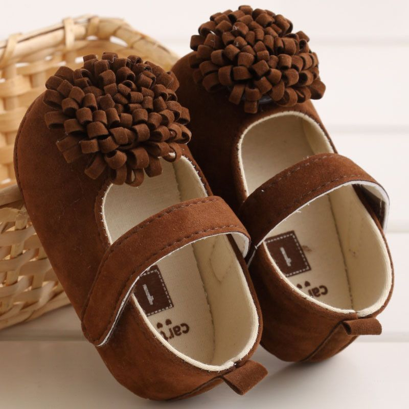 Baby Mary Jane Flower Shoes