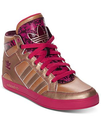 adidas Women's Originals Hardcourt Hi Casual Sneakers from
