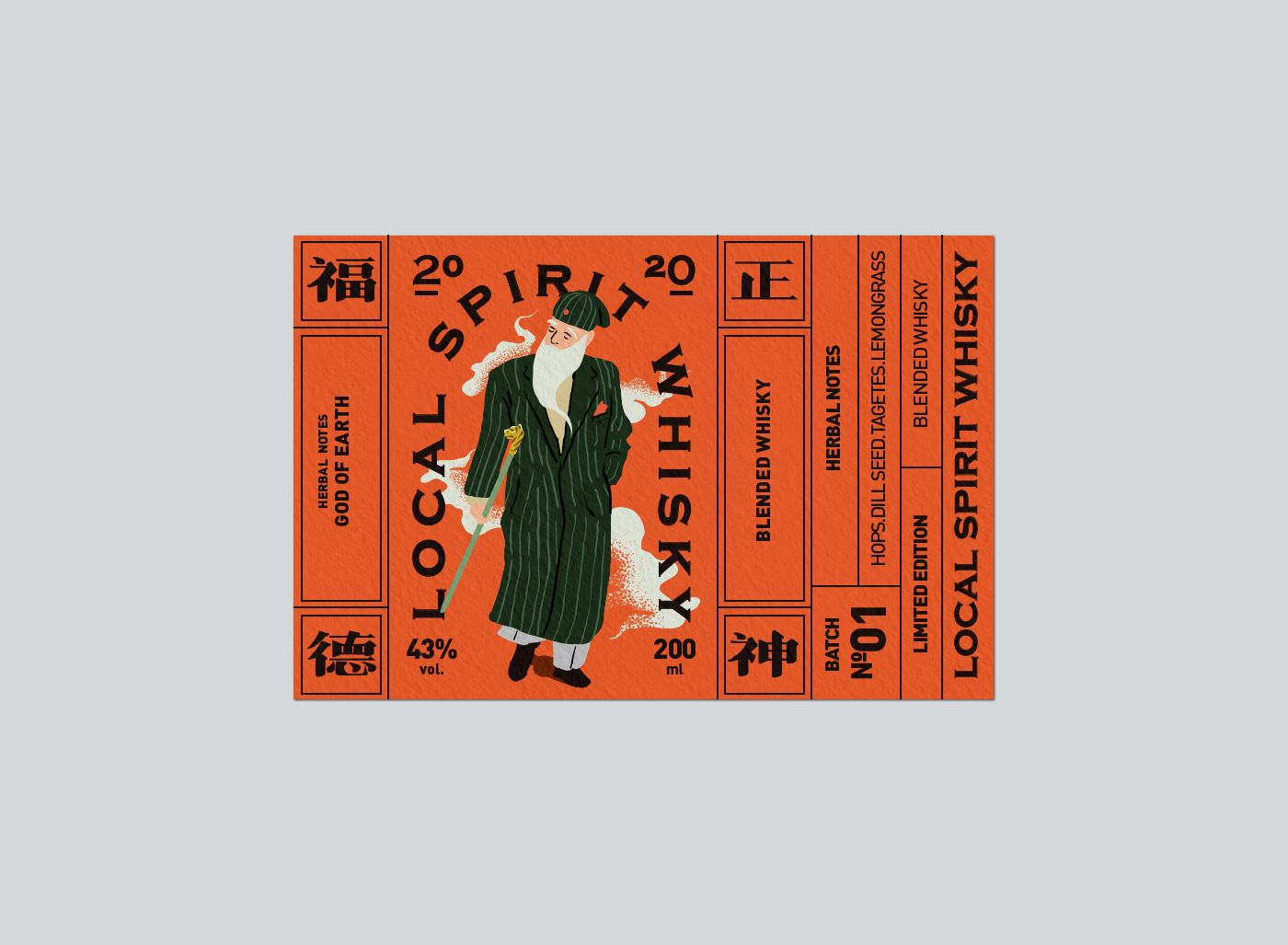 Local Spirit Whisky Visual Identity Design Graphic Design Posters Identity Design