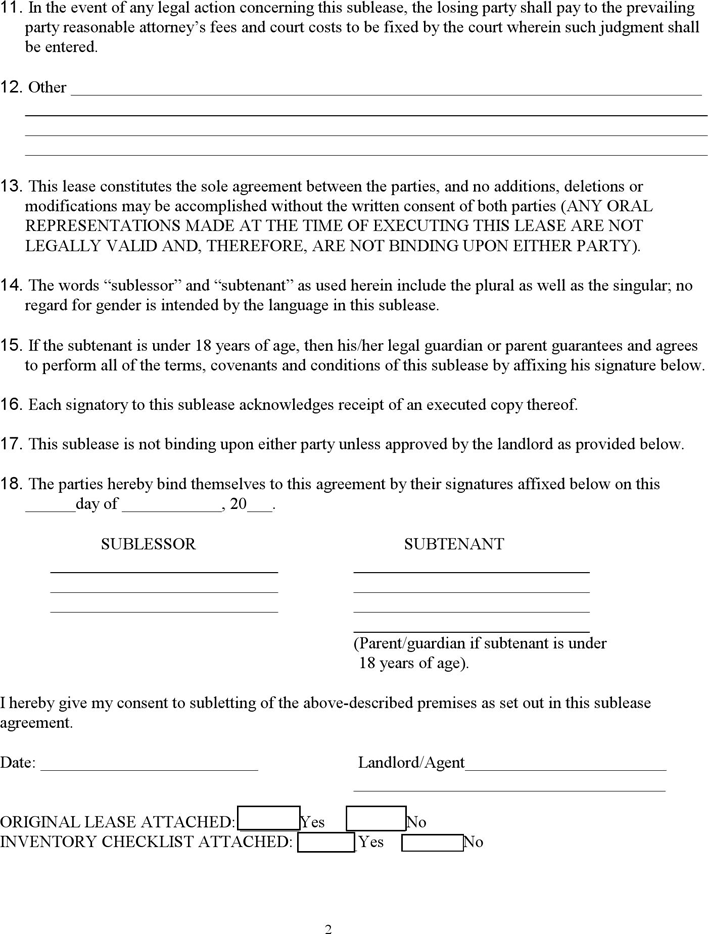 Colorado Sublease Agreement Template Download Free Printable Rental Legal Form Template Or Waiver In Different Editable Fo Legal Forms Templates Template Site