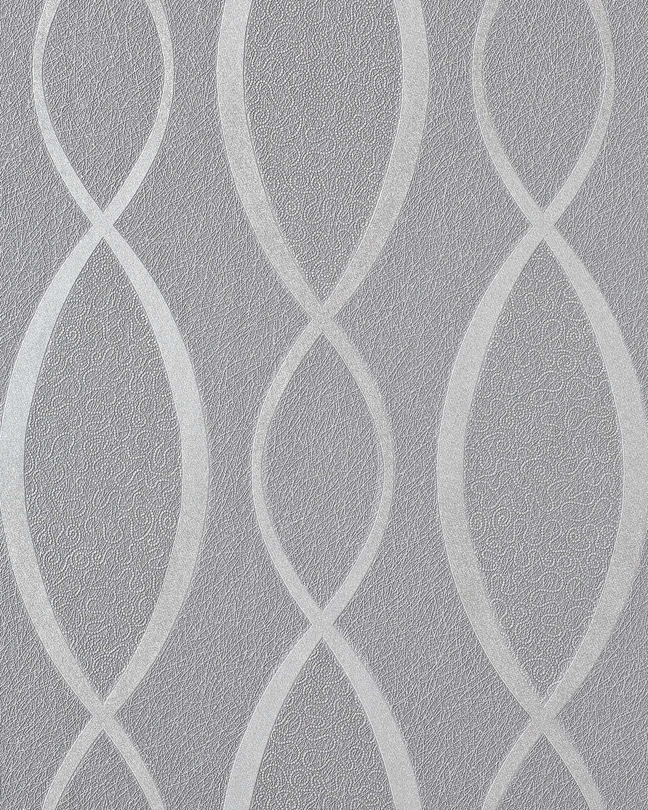 Design behangpapier vinyl abstract strepen edem 1018 16 for Silver grey walls