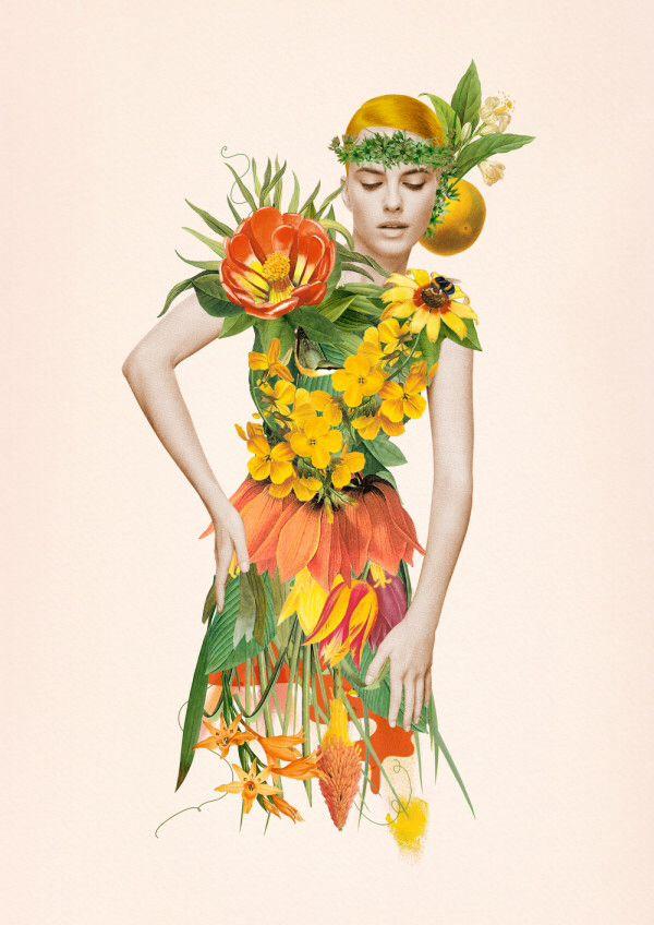 Green fashion - artist Ciara Phelan