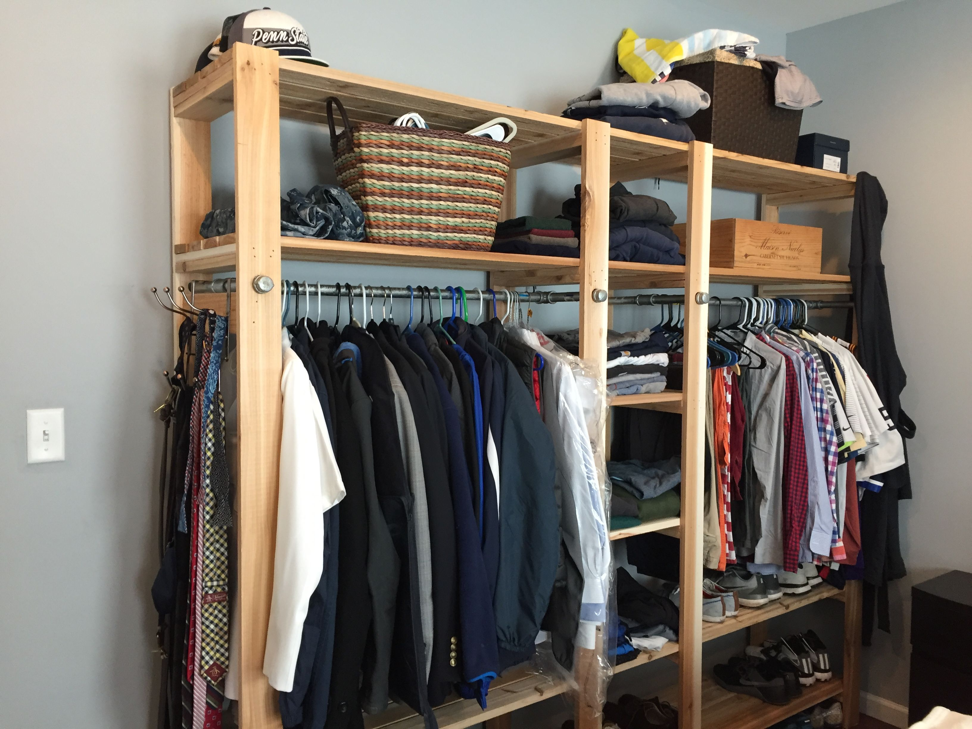 No Closet No Problem Do It Yourself Home Projects
