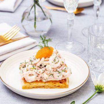 Lyxig Toast Skagen - Recept - Tasteline.com