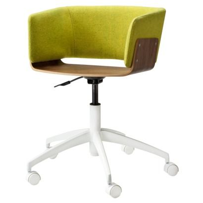 Swell Too By Blu Dot Hipper Office Chair Upholstered Guacamole Ncnpc Chair Design For Home Ncnpcorg