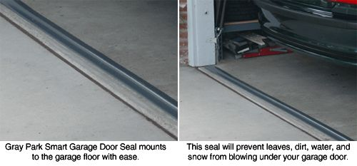 Park Smart Tsunami Seal Garage Door Seal Seal Out The Elements