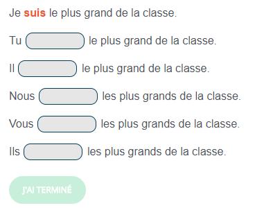 Exercice De Francais Phrases A Conjuguer Avec Le Verbe Etre Au Present De L Indicatif French Activities Teaching French Teaching