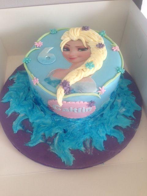 Birthdaycakes Frozenelsa2dcakex Cakes Pinterest Elsa