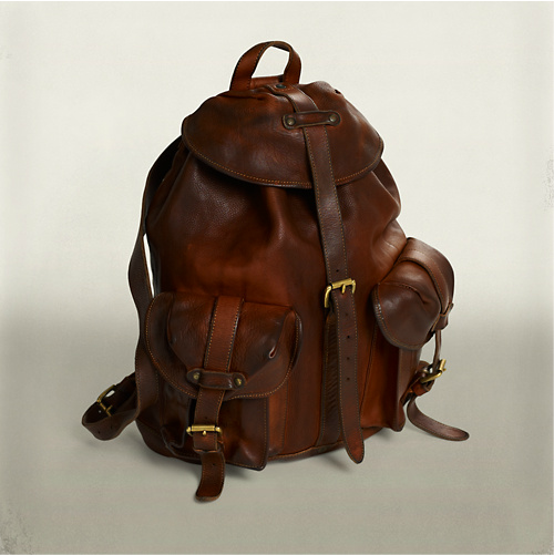 e8700b047f69 iamnotentertained: RRL Riley Leather Rucksack | Style & Accessories ...